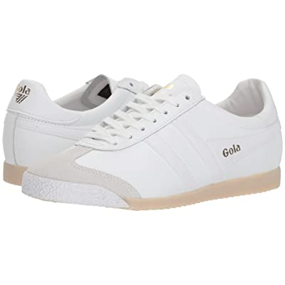 Gola Harrier 50 Leather (White/White) Women