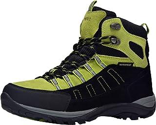 611c639b8 Riemot Scarpe da Trekking Donna Uomo Alte Scarponi da Montagna Impermeabili  Leggero e Traspiranti Scarponcini da