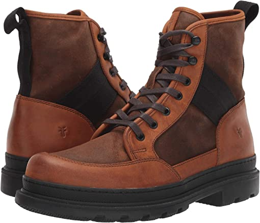 Brown Multi WP Rugged Nubuck/WP Waxed Suede/Waxy Canvas