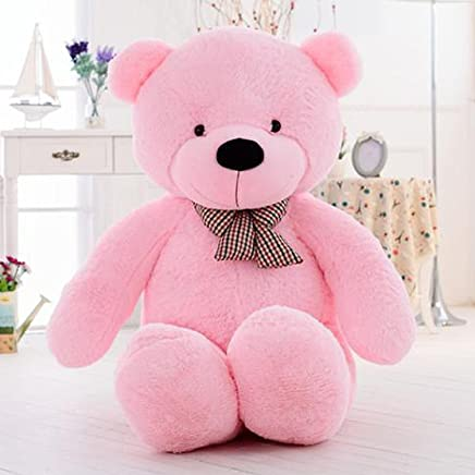 Frantic Premium Quality Huggable Stuffed Teddy Bear in Pink Color – 3 Feet