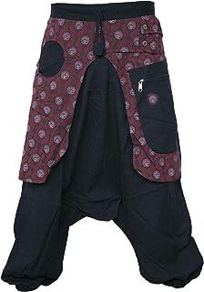 Gheri Aladdin Genie Baggy Drop Crotch Stylish Harem Eye Trousers