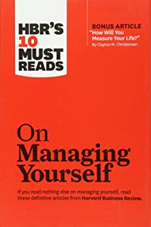 HBR's 10 Must Reads on Managing Yourself (with bonus article