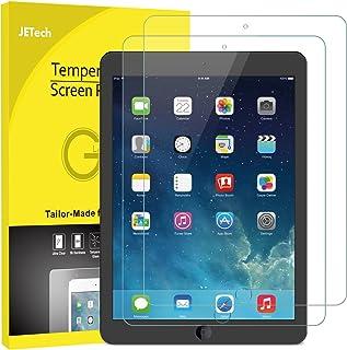 JETech Protector de Pantalla para Apple el nuevo iPad (9,7 Pulgadas, 2018/2017 Modelo), iPad Air 1, iPad Air 2, iPad Pro 9,7, Vidrio Templado, 2 Unidades