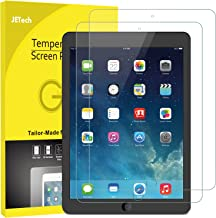 JETech Schutzfolie Kompatible mit iPad (9,7-Zoll, 2018/2017 Modell, 6./5.Generation), iPad Air 1, iPad Air 2, iPad Pro 9,7-Zoll, Gehärtetem Glas Displayschutzfolie, 2 Stücke