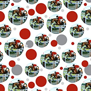 GRAPHICS & MORE Horse Show Jumping Stadium Premium Gift Wrap Wrapping Paper Roll