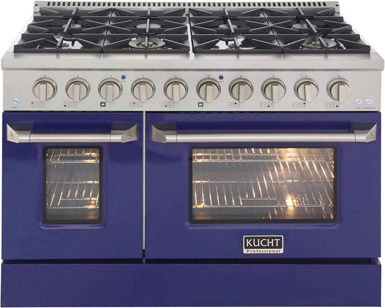 Kucht KNG481-B Gas Max 60% OFF Range Blue Many popular brands