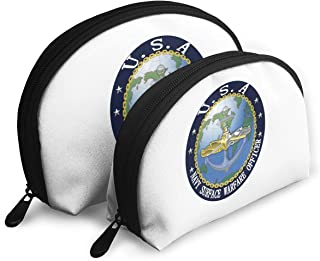 US Navy Surface Warfare Officer Women Shell Portable Bags Clutch Pouch Change Purse Bags