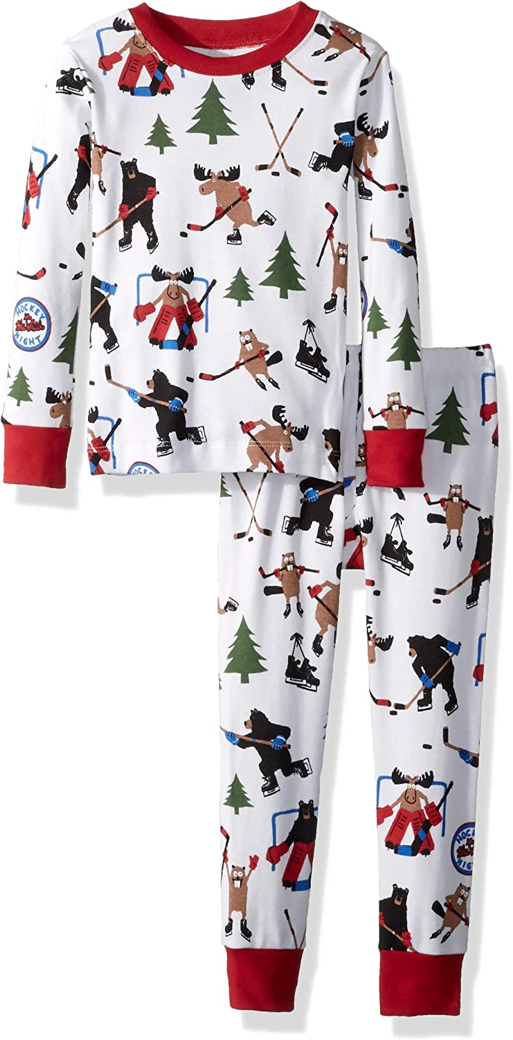 specialty shop Little Direct sale of manufacturer Blue House by Hatley Sleeve Paj Boys' Printed Long