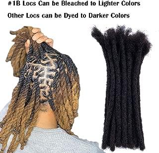 human hair locs extensions