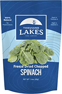 Thousand Lakes Freeze Dried Fruit and Vegetable Snacks - Spinach 1.4 ounces