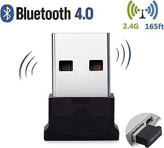 WONZOM Bluetooth USBアダプタ4.0 Bluetooth ブルートゥース ワイヤレス 超小型 Windows 10/ 8.1/ 8/ 7/Vista/XP apt-X対応