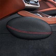 Knee Support Pillow Armrest Rest Pad Door Control Leg Cushion Foot Pads Thigh Support Comfort Pillow Black//18cm/×8.2cm Urnanal Car Knee Side Cushion Pad