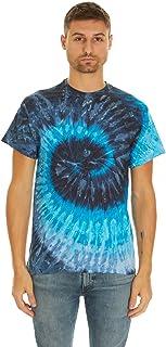 Krazy Tees Tie Dye Style T-Shirts Men Women - Fun, Multi Color Tops