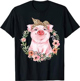 Pig Bandana Cute Love Pig T-Shirt