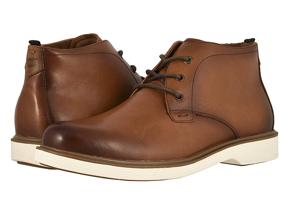 Florsheim Supucush Plain Toe Chukka Boot (Cognac Smooth) Men