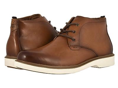 Florsheim Supucush Plain Toe Chukka Boot (Cognac Smooth) Men