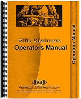 New Operators Manual Made for Allis Chalmers Crawler HD9