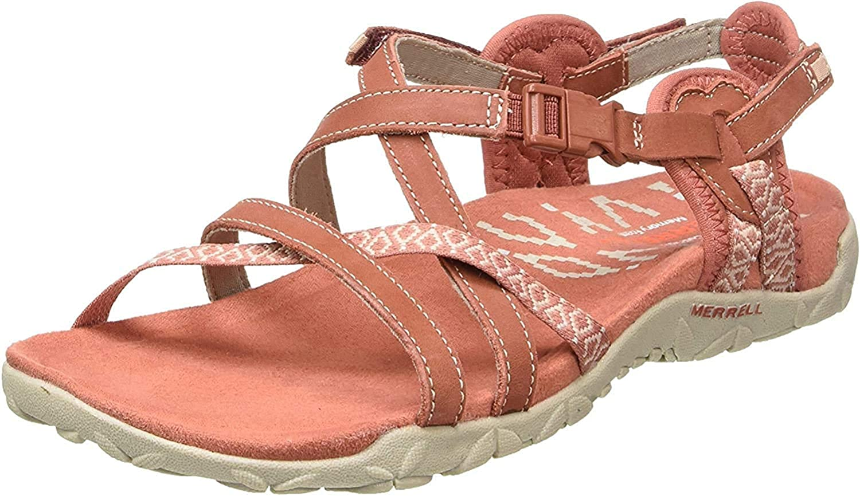 Merrell Women's Terran Lattice Ii Ankle Strap Sandals