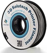 3D Solutech Real Grey 1.75mm ABS 3D Printer Filament 2.2 LBS (1.0KG)