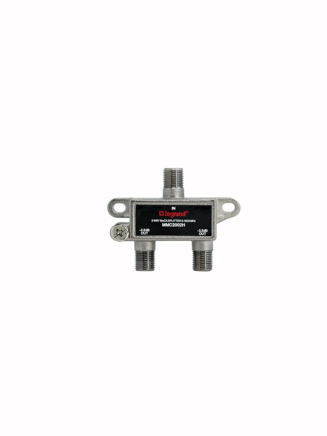 Legrand - On-Q VM2202V1 2Way Digital Cable Splitter with Coax Network Support