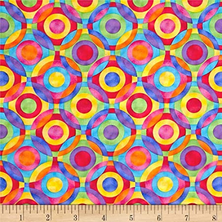 Cotton Fabric  Blue Cotton Fabric  Blue Quilting Fabric  Blue Geometric Cotton Fabric  Quilting Fabric  Fabric Traditions