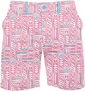 Tipsy Elves Men's Casual Summer Shorts w/Elastic Waist - Wild Patterned Golf Shorts