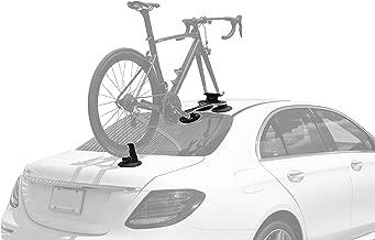 SeaSucker Talon Single Bike Rack for Cars - USA Made Racks - SUV, Sedan, Hatchback, RV, BMW, Honda, Tesla, Mazda and Every Other Car – No Hitch Mount, 100% Safe, Zero Damage, Travel-Friendly Carrier