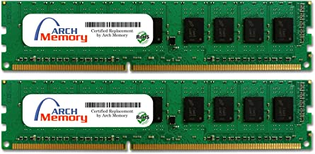 Arch Memory 4GB (2 x 2GB) 240-Pin DDR3 Udimm RAM Replacement for KVR1333D3N9K2/4G Anti-Static Gloves Included