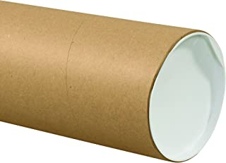 Partners Brand PP6060KHD Jumbo Mailing Tubes, 6