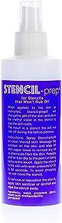 Stencil Prep Spray For Tattoo Stencil Transfer- Made In USA (8 oz - 1 pcs)