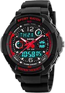 PASNEW Kids Watches Colorful Cool Waterproof Digital Watch Christmas Gifts,Suitable for Children Aged 6 or Over