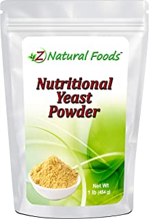 Premium Nutritional Yeast Powder - 1 lb - Fortified, Gluten Free, Non GMO, Vegan - Delicious Cheesy Taste - High In B Vita...