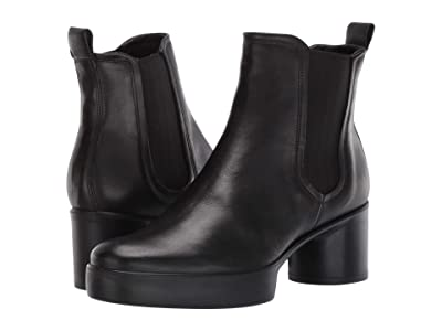 ECCO Shape Sculpted Motion 35 Chelsea Ankle Boot (Black) Women