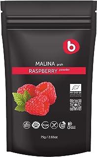 Bobica's Premium European Organic Raspberry Powder | from Freeze Dried Raspberries | High-Potassium Foods | Non-GMO, Glute...