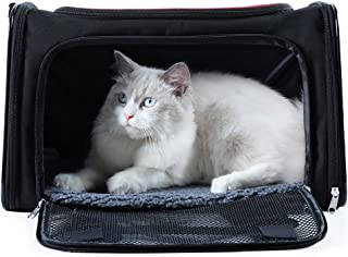 A4Pet Collapsible Cat and Dog Carrier, Top Loading, Sturdy Bottom, Easy Storage