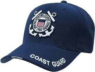 US Coast Guard Baseball Ball Cap Hat(Blue, One Size)
