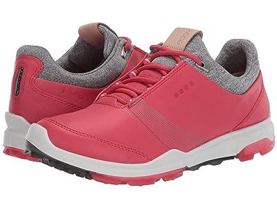 ECCO Golf Biom Hybrid 3 GTX (Teaberry) Women