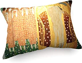 weewado Gustav Klimt - Friso de Beethoven - Detalle - 60x40 cm - Cojines del sofá - Arte, Imagen, Pintura, Foto - Old Masters/Museum