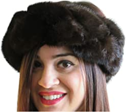 FursNewYork Braided Mink Headband, Neck Warmer & Collar