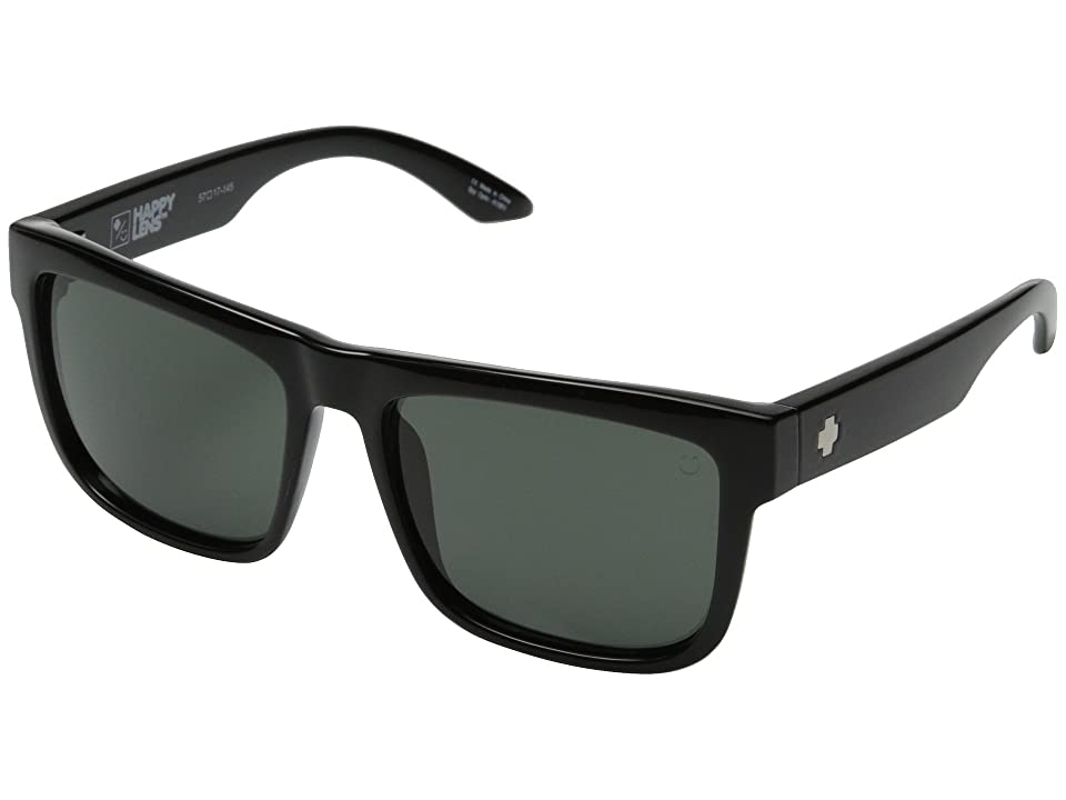 Spy Optic Discord (Black/Happy Gray Green) Sport Sunglasses