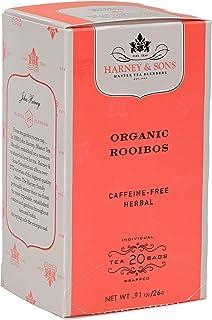 Harney & Sons Organic Rooibos Herbal Tea, 20 Tea Bags