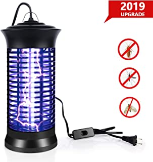 BUGSMSKTE 1 BUGMASTER UV Killer, 2019 New Upgrade Zapper, Electric Bee, Black