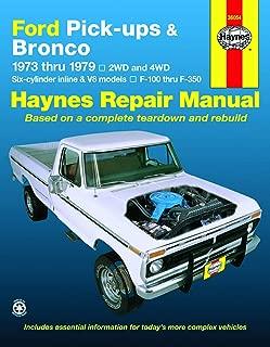 Ford Pick-ups F-100, F-150, F-250, F-350 & Bronco (73-79) Haynes Repair Manual
