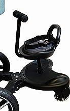Buggy board Mit Sitz Elternstolz Kiddyboard Trittbrett Für Kinderwagen Rollbrett Buggyboard Board mit Sitz