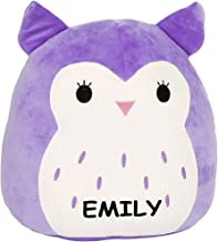 Customized Kellytoy Squishmallow Holly The Purple Owl Super Soft Plush Toy Pillow Pet Pal Buddy (16 inches)