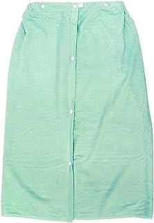 林(Hayashi) ラップタオル グリーン 約82×120cm シャーリングカラー MD410814
