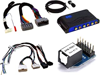 Car Stereo Advanced Amplifier Install Audio Interface with Digital Audio System and 18-Inch Speaker Harness