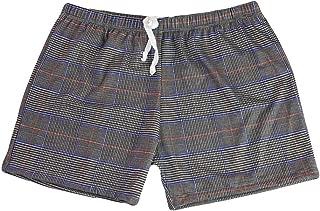 Daerzy-Underwear Men's Plaid Boxer Home Furnishings Boxer Underpants Knickers 100% Cotton Premium Quality Shorts