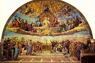 Raphael Disputation of The Holy Sacrament Fine Art Cool Huge Large Giant Poster Art 54x36