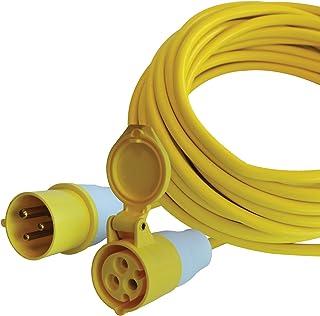 Faithfull TL14HDUTY Trailing Lead (110 Volt) 14 Metre 16 Amp 2.5 mm Cable